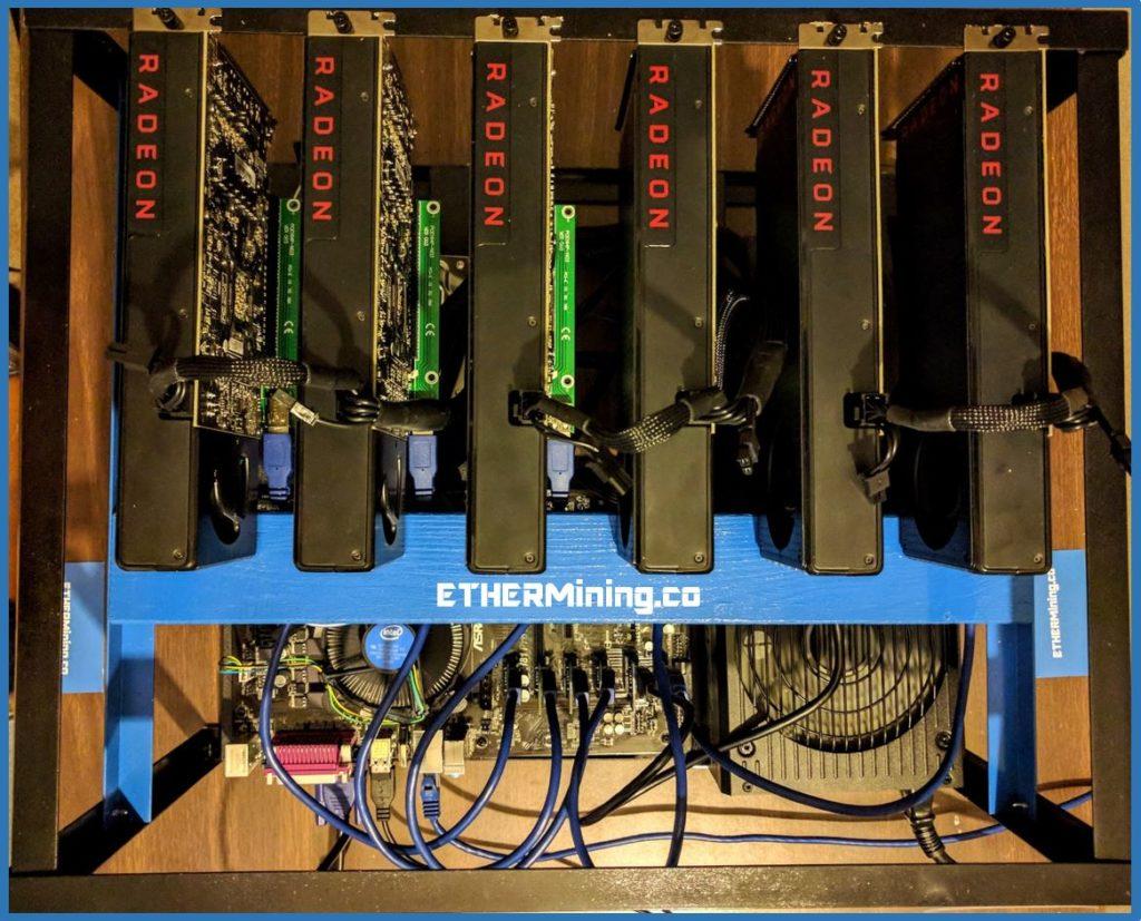 Ether Mining Rig - AMD GPU RX 480 - Ethereum Mining